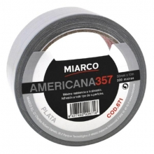 Cinta americana gris 1909 50X50m MIARCO