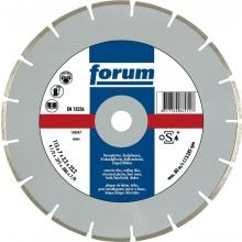 Disco corte diamante láser segmentado 150x22,2x2,6mm  FORUM