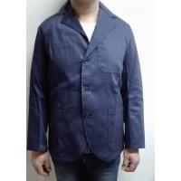 Americana algodon azul marino A7PV t54 VESIN