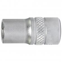 Llave de vaso 1/4 hexagonal 10mm  largo  FORUM