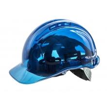 Casco Helmet Azul transparente PEAKVIEW