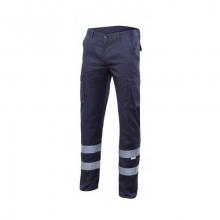 Pantalon stretch multibolsillos 103014S-61 azul navy VELILLA