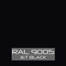 Spray de pintura 400ml ral-9005 negro mate