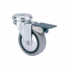 Rueda giratoria con freno 1-0552 Ø60mm 25kg ALEX