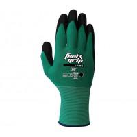 Guante H-257 Feel & Grip nylon latex verde JUBA
