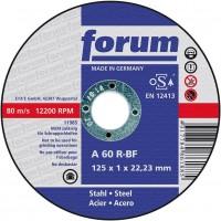 Disco de corte para acero 115x1,0mm recto (10 unidades) FORUM