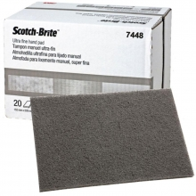 Hoja 7448+ Scotch-Brite 158x224mm S UFN A Ultra Fino (20 unidades) 3M