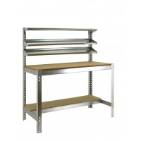 Kit Simonwork BT1 900 galvanizado/madera 1445x910x610 SIMON