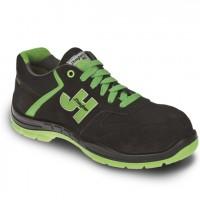 Zapatilla Style S1P SRC negro/verde JHAYBER