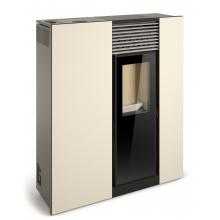 Estufa pellet pasillera Genesis 8 kW aire FERLUX (¡Aspirador de cenizas Kärcher de regalo!)