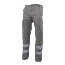 Pantalon stretch multibolsillos 103014S-8 gris VELILLA