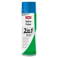 Imprimacion galvacolor RAL 5012 azul 500ml spray CRC