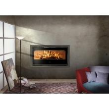 Estufa de leña insertable acero Galaxy-100 14 kW FERLUX