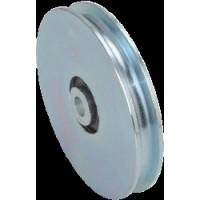 Polea casquillo R-10 70x16 (M-12) zincada ROANDI