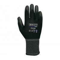 Guante ECO-PU 1400 nylon/PU NEGRO BPU blister (5 unidades) JUBA