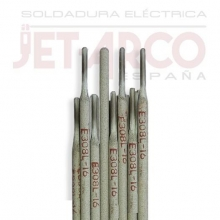 Blister 3 electros INOX 308L Ø3,2x350mm JETARCO