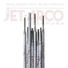Blister 5 electros INOX 316L Ø2,5x350mm JETARCO