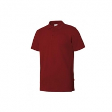 Polo stretch manga corta hombre 105508S-12 rojo VELILLA