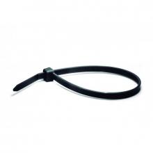 Brida de nylon negra 2,5x100mm  (100 unidades)