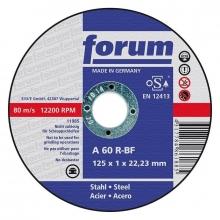 Disco de corte para acero fino 115x1,6mm recto  FORUM