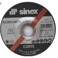 Disco corte inox EHT 125x1.0 Basic SINEX