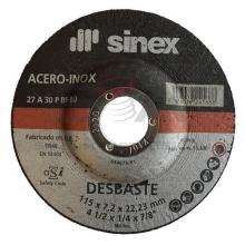 Disco desbaste hierro E-125x7 A30PPSF SINEX