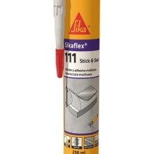 SIKAFLEX 111 Sellador polimero Stick&Seal blanco 290ml SIKA