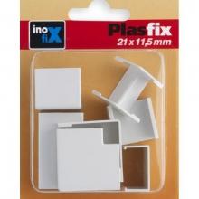 Accesorios canaleta 21x11,5mm surtido 3430-2 INOFIX