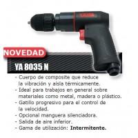 Taladro neumatico pistola ya-8035 10mm 2600rpm composite YAIM