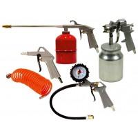 Kit pistolas compresor 5 piezas ABAC