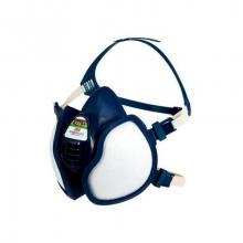 Media máscara filtros integrados 4279+ FFABEK1P3 R D mosca 3M