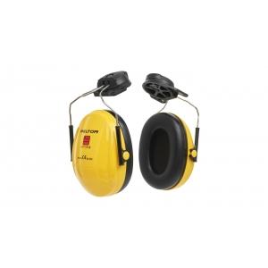 Protector oidos Optime I H510P3E casco alta visibilidad baja 3M