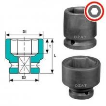 Vaso impacto 1/2-25 mm OZAT