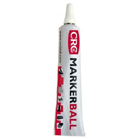 MARKER BALL blanco 50ml marcador de pintura permamente CRC