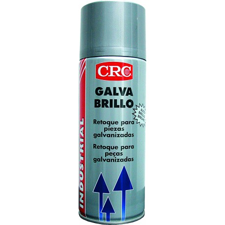 GALVA BRILLO 400ml spray galvanizado en frío brillo CRC