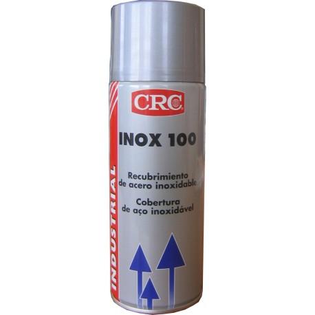Pintura INOX 100 400ml recubrimiento para acero inoxidable CRC