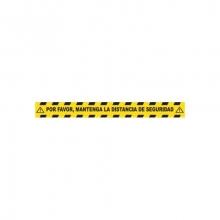 Vinilo suelo 10x65cm distancia seguridad MEPLASJAR