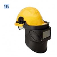 Pantalla de soldar para casco 415 cristal fijo 110x55mm CLIMAX
