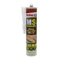 Sellador adhesivo MS Plus marron 300ml FISCHER