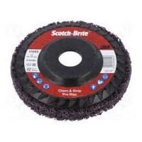 Disco Scotch-Brite Clean and Strip XT Pro XO-RD 115x22mm 3M