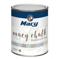 Pintura tiza macy-chalk  842 blanco tiza 750ml MACY