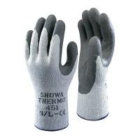 Guante antifrio thermogrip 451 gris revestido LATEX SHOWA