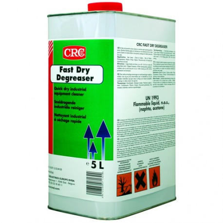 Desengrasante fast dry 5l CRC