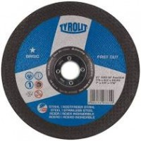 Disco corte basic 125x1,0x22,23 inox a60q-bfSs TYROLIT