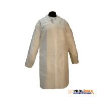 Bata polipropileno blanca cierre velcro soft 25g 65402 (10 unidades) PROLIMAX