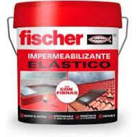 Impermeabilizante elástico con fibra 15 litros blanco FISCHER