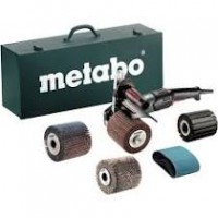 Satinadora Kit completo SE17-200RT Set 1700W maletin metal METABO