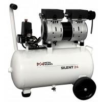 Compresor silent 1HP 25L (s/aceite) BF-25-SIL BELFLEX