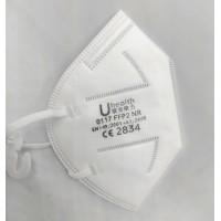 Mascarilla FFP2 con marcado CE goma orejas 64715 (50 unidades) UHEALTH