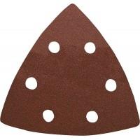 Hoja abrasiva triángular velcro madera 96mm K120 (100 und) FORUM